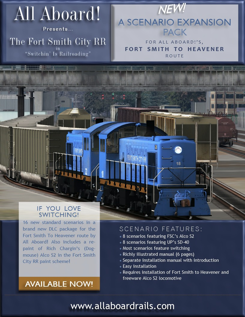 Expansion pack for Fort Smith to Heavener